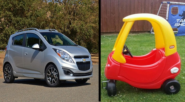 Chevy Spark looks a lot like....